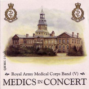 Royal Army Medical Corps band Medics In Concert