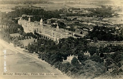 Aerial photo Royal Victoria Hospital Netley