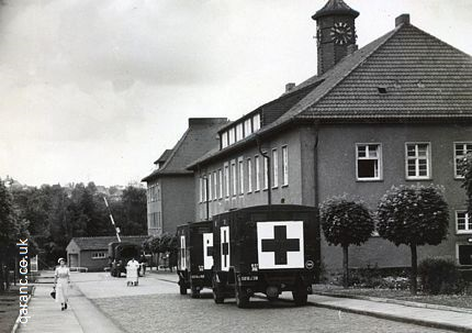 Army Ambulances 1956 BMH Iserlohn Germany