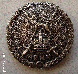 Army Trained Nurse badge