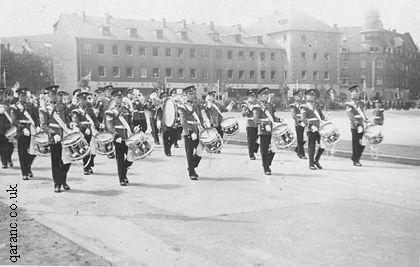 Band 1st Battalion of the Queens Royal Regiment BMH Iserlohn
