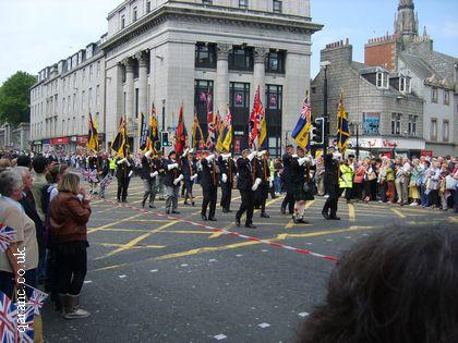 British Legion Parade