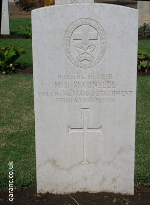 British Red Cross Grave