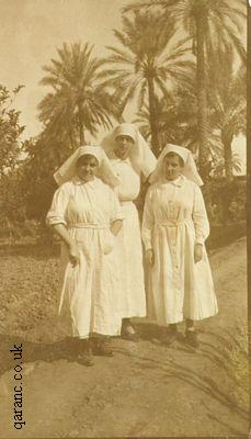British Army Nurses Baghdad 1919