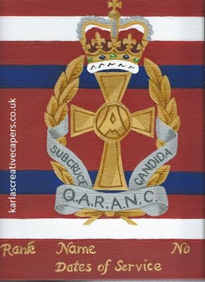 Buy QARANC Merchandise Shop For Army Nurse Items