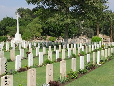 Cairo Egypt War Memorial Cemetery