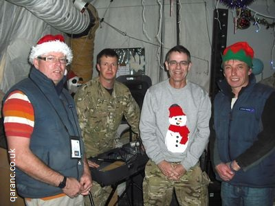 Camp Bastion Hospital staff