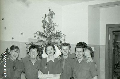 Christmas 1957 QARANC Staff Patients