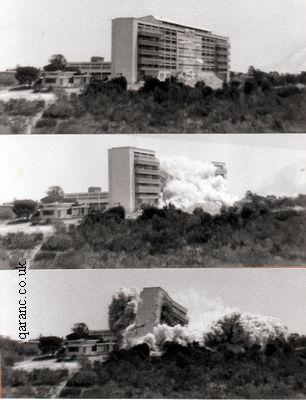 Demolition of Hospital Building