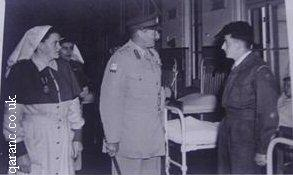 General Inspecting Bowen Road Hospital