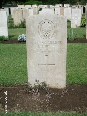 Grave British Red Cross Order St John