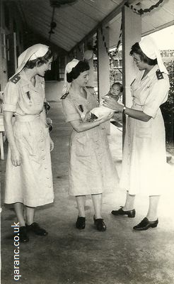 Isolation Ward Singapore with baby three qaranc sisters