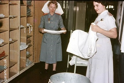 Linen Cupboard Army Hospital