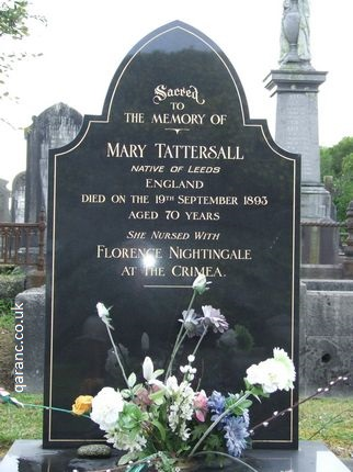 Mary Tattersall Crimea War Nurse Veteran Grave Karoro Cemetery Greymouth South Island New Zealand