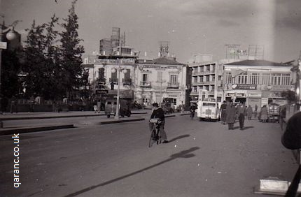 Metaxis Square, Nicosia January 1959