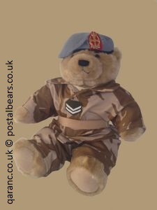 Military Teddy Bear