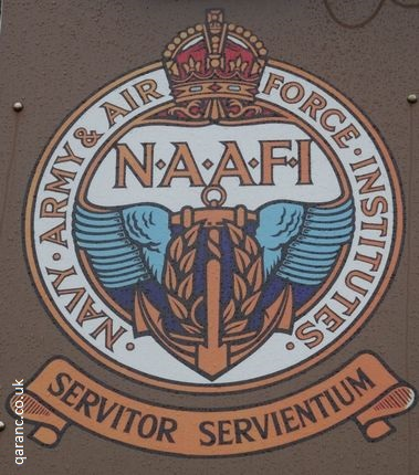 NAAFI Sign