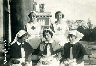 Netley Hospital Nursing Officers Vads World War Two