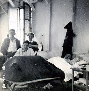 North Africa World War Two Ward Nurse Patients