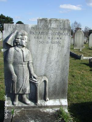 Nursing Uniform Headstone
