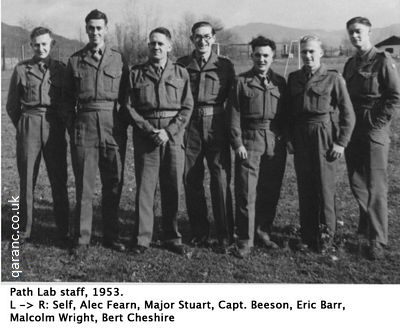 Path Lab staff 1953