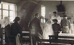 Post World War Two Wedding