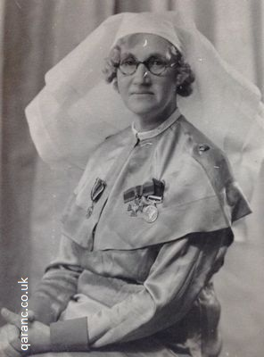 QAIMNS Matron Wearing Royal Red Cross