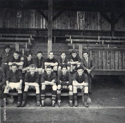 RAMC football team BMH Klagenfurt 1954