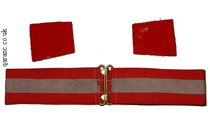 SEN belt and epaulettes
