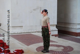 Saluting QARANC Poppy Wreaths Remembrance Day The Somme Thiepval Memorial