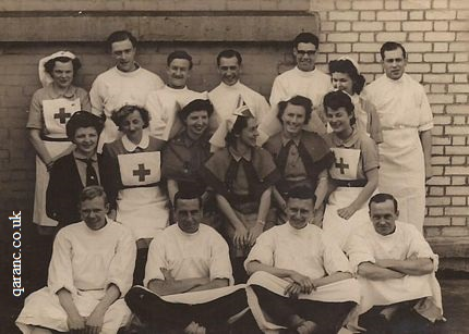 Victory in Europe Day 8th May 1945 Royal Herbert Hospital Woolwich London