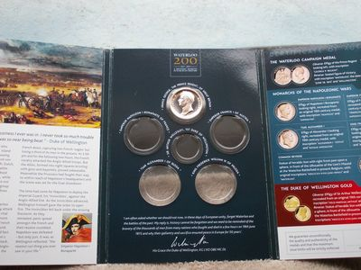 Waterloo Coin Presentation Folder