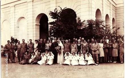 Wedding Photo World War Two India