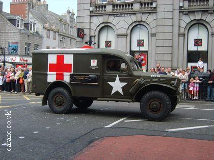 World War Two American Ambulance