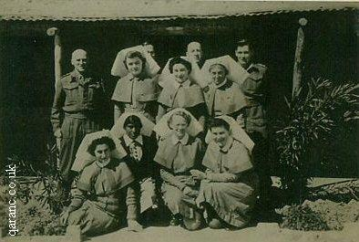 World War Two Hospital Staff