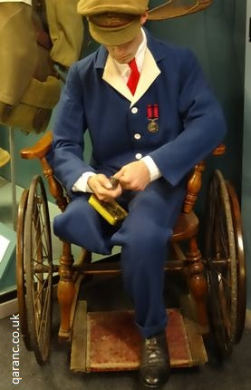 Army Hospital Blues Uniform WW1