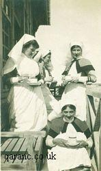 Ethel Smithies with QAIMNS nurses