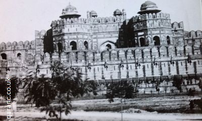 famous fort agra 1941