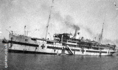 hospital ship vira at aden 1941