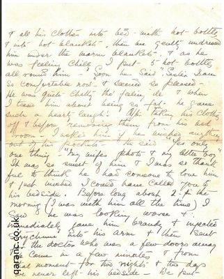 letters from the first world war