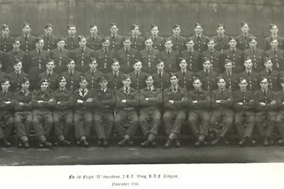 no 16 flight d squadron 2 rt wing raf padgate nov 1946