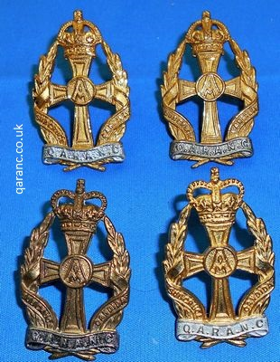 officers qaranc cap badge