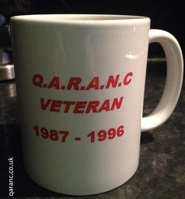 personalised veteran army mug