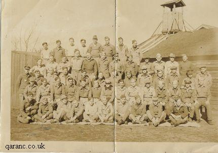 Photo British Army Soldiers In Prison Camp