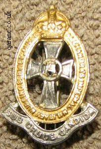 QAIMNS Cap Badge