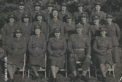 qaranc depot and training establishment queen alexandra camp liphook