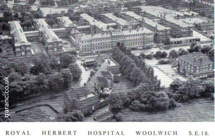 royal herbert hospital woolwich london