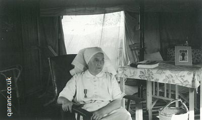 tent accommodation matron egypt WWII