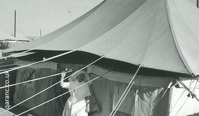 tent hospital egypt world war two