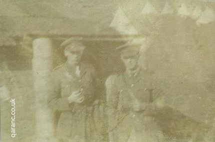 unknown photo two officers first world war